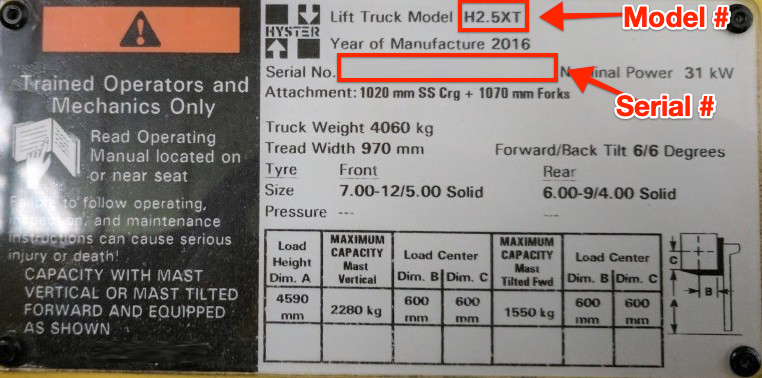 Hyster-Data-Plate